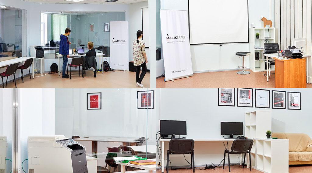 Фотографии рабочих мест в MSPACE коворкинг офис