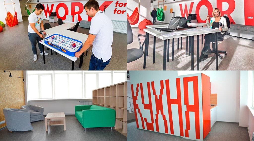 Е1 коворкинг аренда рабочих мест в Новосибирске