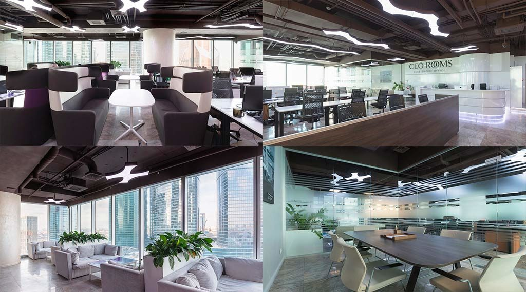 CEO Rooms Empire офис москва сити