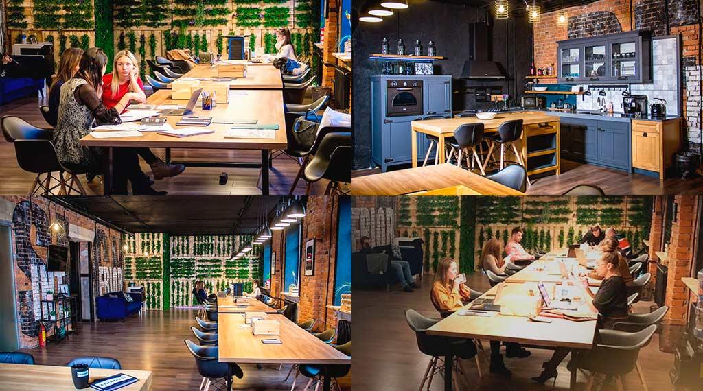 FinHouse Design коворкинг в Питере аренда