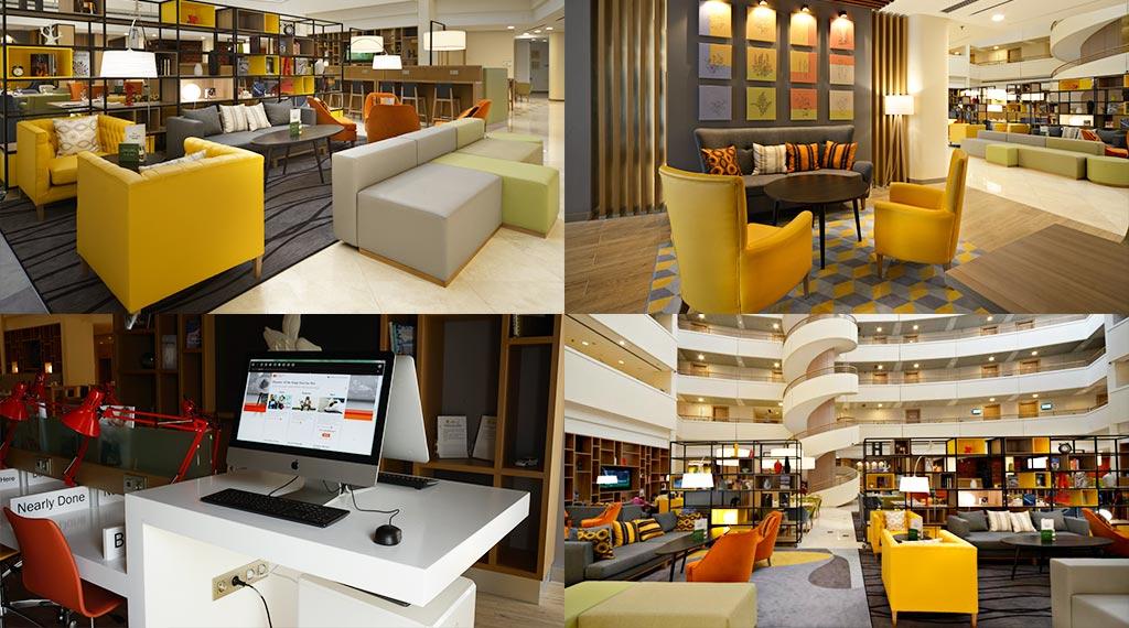 Коворкинг в отеле Holiday Inn Moscow Селигерская в городе Москва